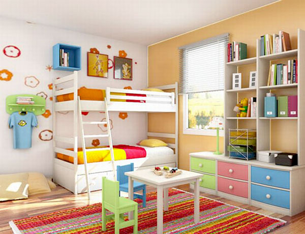 Двухъярусная кровать - экономия пространства в детской