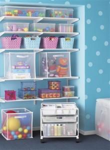 Прозрачные пластиковые контейнеры для хранения игрушек