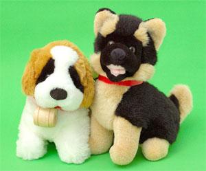 Мягкие игрушки собачки