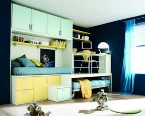 Современный дизайн комнаты для мальчика
