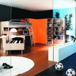 Дизайн комнаты для маленького футболиста