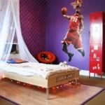 Комната для фаната баскетбола