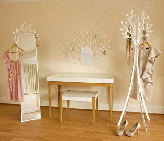Концепция гардеробной для девочки