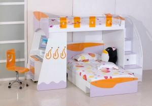 Компактная мебель для детской комнаты