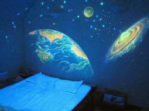 Ночное небо в детской комнате