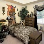 Леопардовая шкура как элемент дизайна