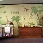 Комната для новорожденного в стиле сафари