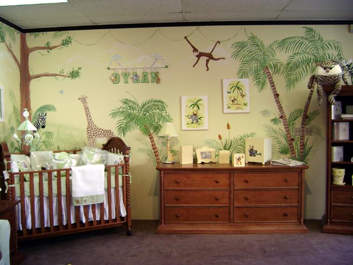 Детская комната в стиле сафари Наша детская