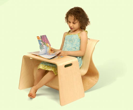 Стол и стул-качалка для детей