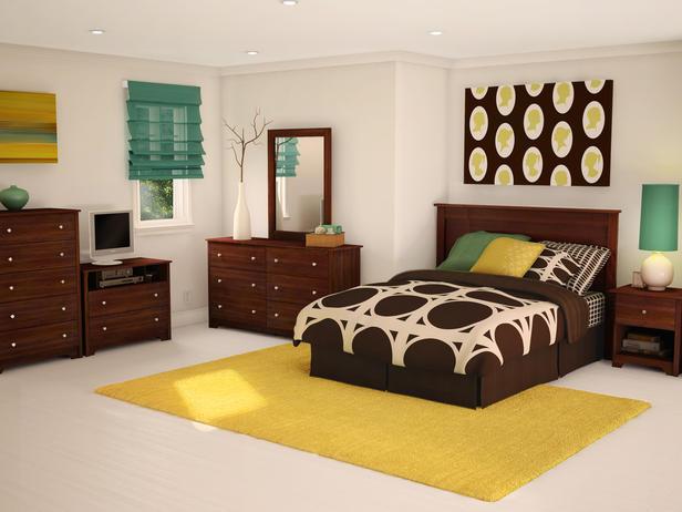 Дизайн в желто-коричневых тонах. Идеальное место для приема гостей
