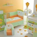 Яркий, веселый дизайн для комнаты ребенка до года
