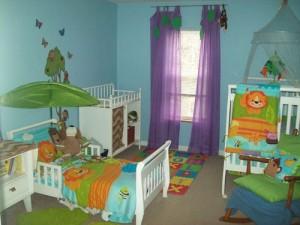 Комната для двух девочек с разницей в возрасте