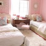 Шикарный дизайн комнаты для двух девочек подростков