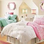 Комната для двух девочек в розовых тонах