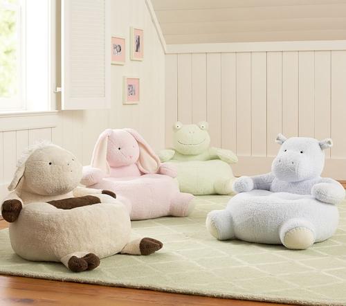 Кресла в виде животных для детей