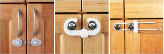 Защита дверок и ящиков от маленьких детей