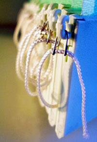 Жалюзи с завязками