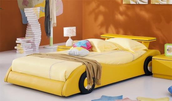 Кровать в форме машины Татами-АЕ006