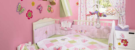 Бабочки в оформлении комнаты для девочки: Читать далее