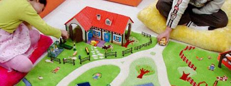 Дизайнерские ковры в детскую комнату от Danish by design: Читать далее