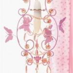 Необычная лампа с бабочками