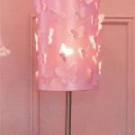 Настольный светильник с бабочками