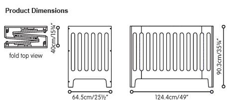 Размеры кроватки Alma Papa