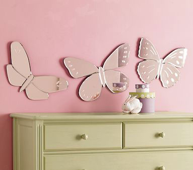 Зеркала в форме бабочек