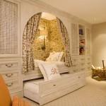 Общая комната с выдвижной кроватью-трансформером