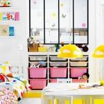 Светлый дизайн для общей комнаты мальчика и девочки