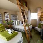 2 кровати и кровать-чердак