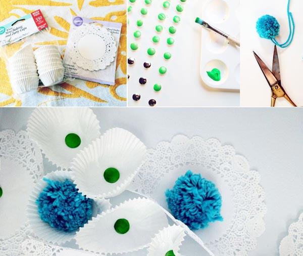 Процесс создания цветков