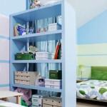 Полки для разделения комнаты на зоны