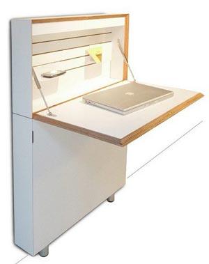 Стол для компьютера с откидной столешницей