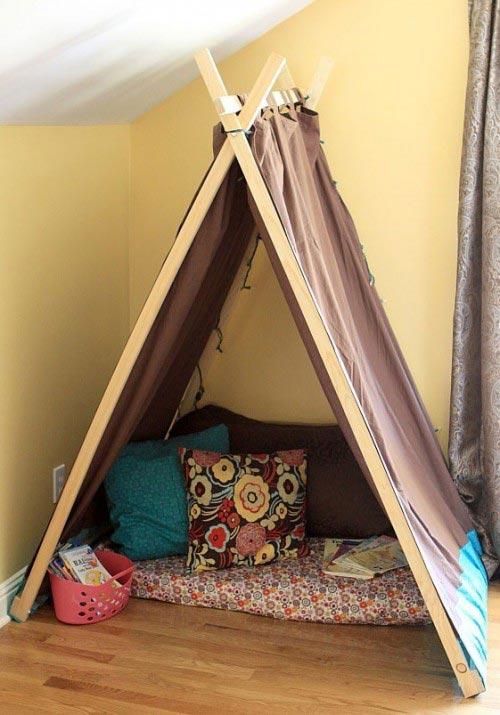 Детские игровые домики палатки своими руками