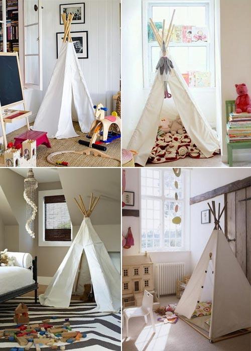 Палатки для игры дома