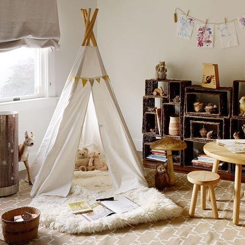 Стилизованная палатка и дизайн
