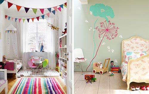 Идеи для украшения детской комнаты своими руками