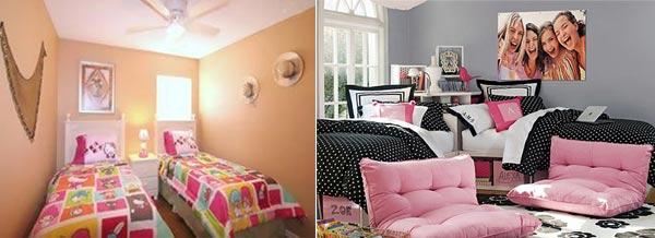 Комната для девочек-двойняшек