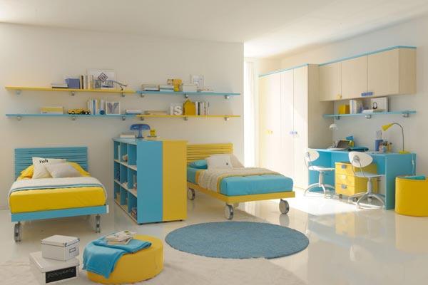 Комната для близнецов подростков