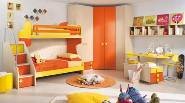 Комната для двойняшек-тинейджеров