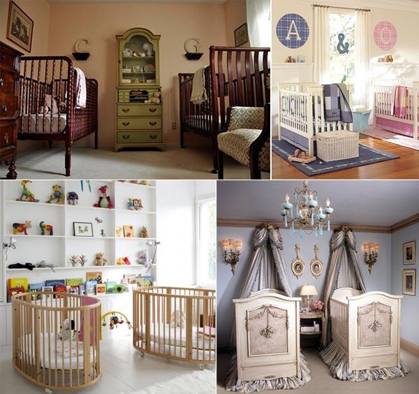 Фотоподборка комнат для близнецов
