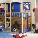 Кровать-чердак для храброго пирата