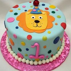Торт на 1-ый день рождения