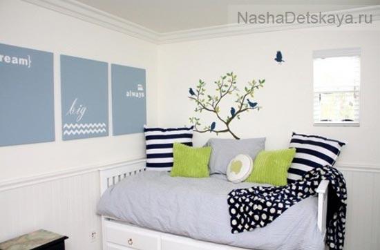 Светлая белая комната