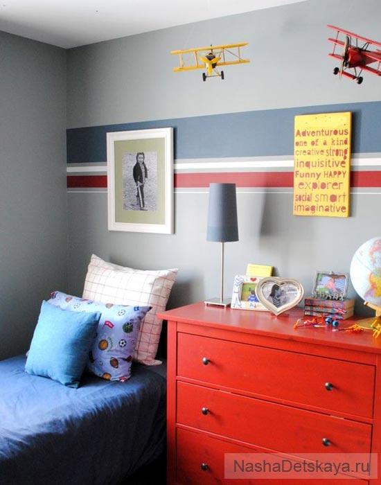Простая комната для мальчика