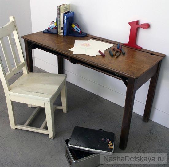 Винтажный стол для творчества