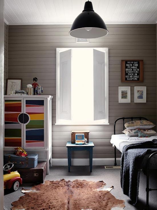 Винтажная детская комната