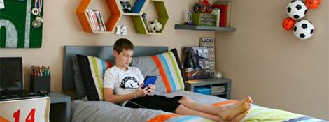 Детская комната для мальчика 10 лет: Читать далее