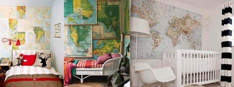 Использование географических карт в дизайне: Читать далее